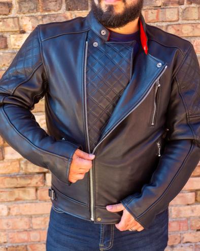 Goldtop Black Bobber Jacket